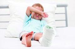 تسکین درد شکستگی کودکان با ایبوپروفن