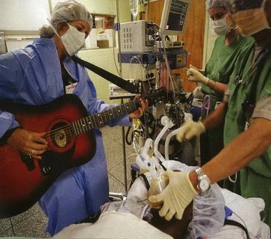 موسیقیدرمانی در زمینههای جراحی (۲)