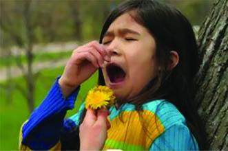 بهارمیآید و گل و واکنشهای آلرژیک
