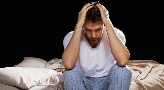خواب به سادگی به چشمان کسانی که جراحات مغزی دیدهاند نمیآید