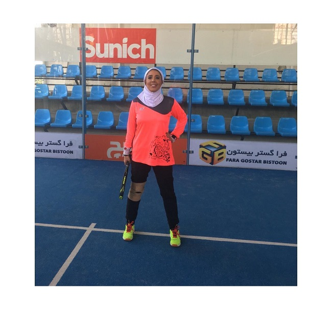 مونا قادری : پدل جزیی از زندگی من است
