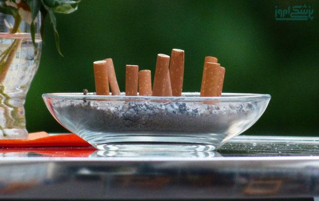 تاثیر مصرف سیگار بر بروز بیماری ام اس