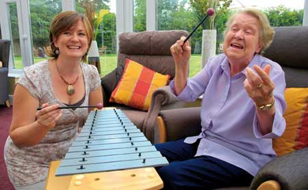 مداخله درمانی با موسیقی