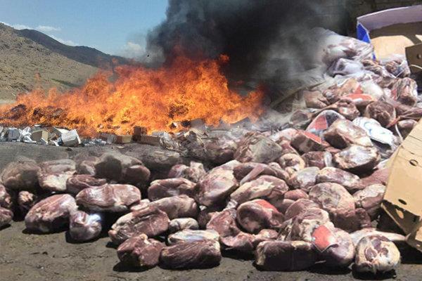 کشف و معدوم سازی بیش از 14 تن مواد غذایی فاسد در ایرانشهر