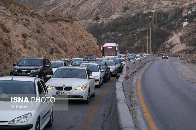 ترافیک پرحجم در سه استان مرزی و جاده های شمالی