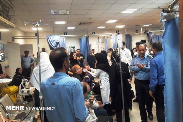 ۴۴۰۰ اهوازی به علت تنگی نفس به بیمارستان مراجعه کردند