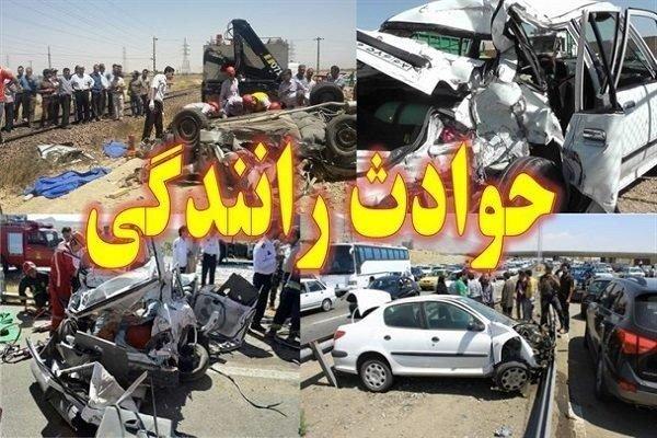 ۱۶ مصدوم در سوانح رانندگی جمعه آخر هفته خوزستان