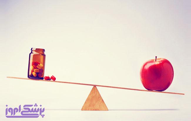 پیشگیری از بیماری های قلب و عروق: با سیب یا استاتین ؟