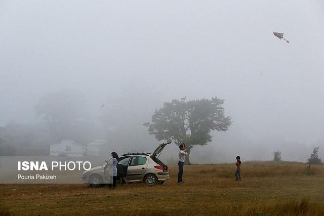 نجات گردشگران مفقودی جنگل ابر