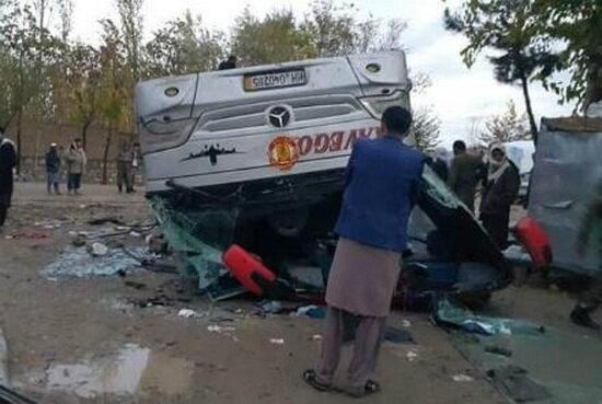 واژگونی مرگبار اتوبوس مسافربری در افغانستان