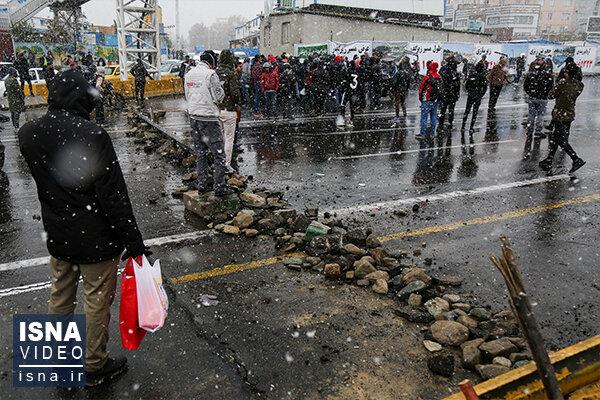 ویدئو / به دنبال مکانی برای اعتراض