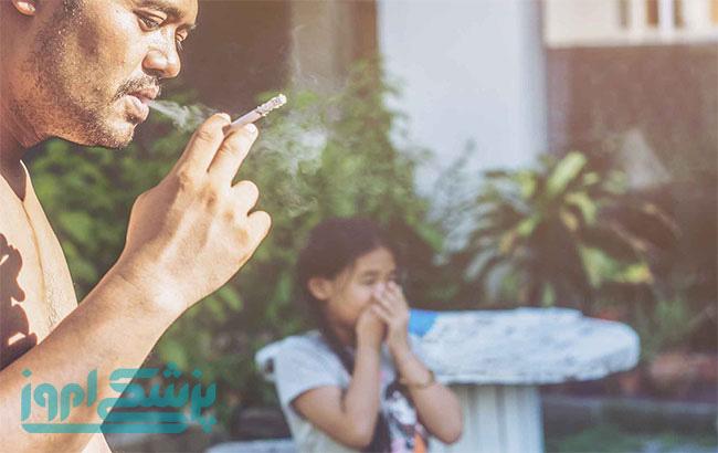 تاثیر دود سیگار بر کودکان