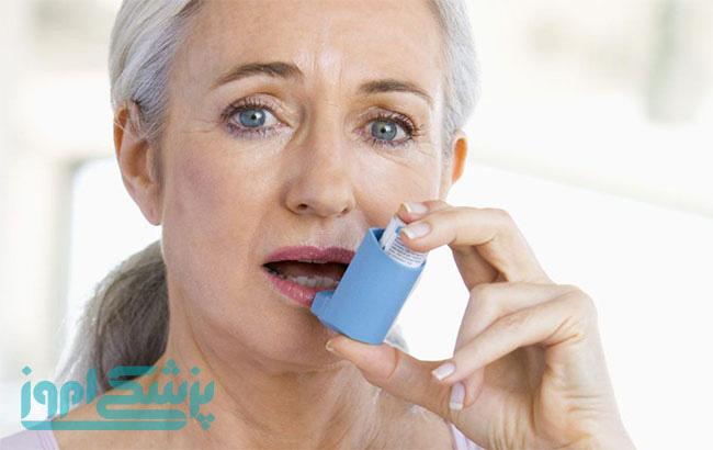 تشخیص ، کنترل و درمان بیماری آسم در سالمندان