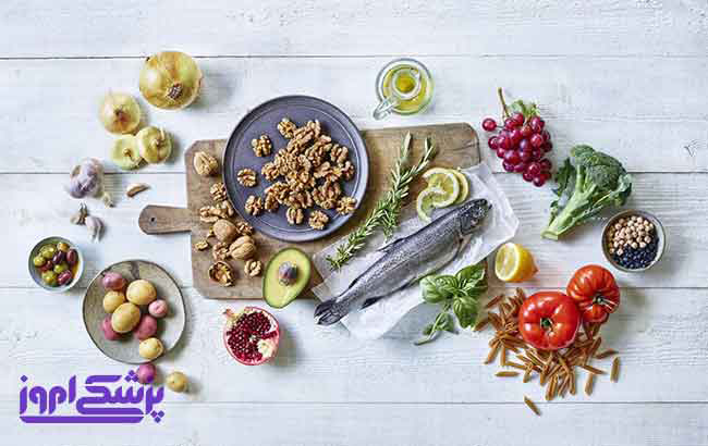 رژیم غذایی مدیترانه ای چیست ؟