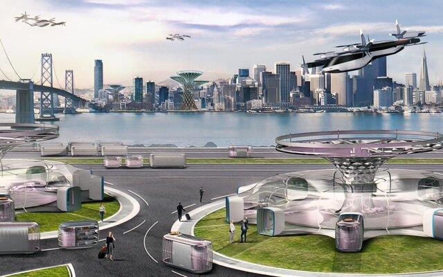 """رونمایی از خودروی پرنده """"هیوندای"""" در نمایشگاه ۲۰۲۰ CES"""