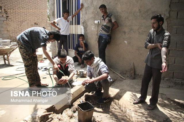 ارائه خدمات به محرومان توسط تشکلهای جهادی همکار با کمیته امداد