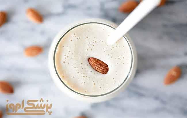 روش  تهیه شیر بادام در خانه