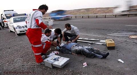 تصادف خودرو در جاده قوچان - مشهد یک کشته داشت