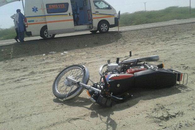 فوت ۲ راکب موتورسیکلت بر اثر برخورد با کامیون در گلستان