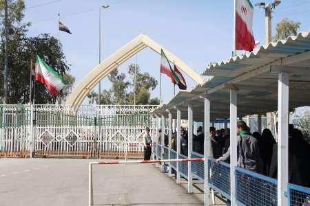 دروازه عتبات در مرز خسروی بر روی زائران گشوده می شود