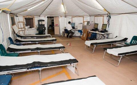 ضرورت برپایی ۳ بیمارستان صحرایی در مرز خسروی برای اربعین