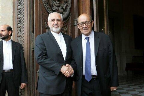رویترز: مذاکره ظریف و لودریان آغاز شد