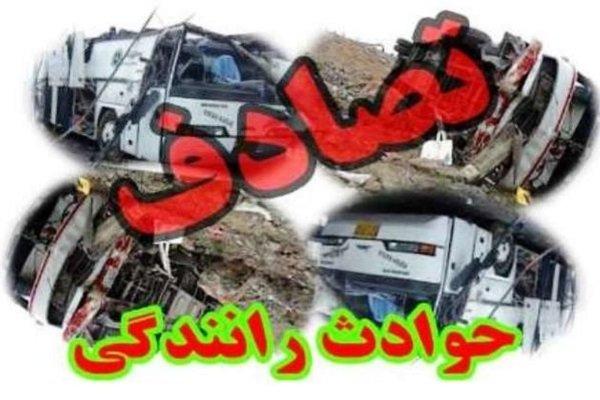 تصادف در جاده بروجرد - خرمآباد ۵ مصدوم بر جای گذاشت
