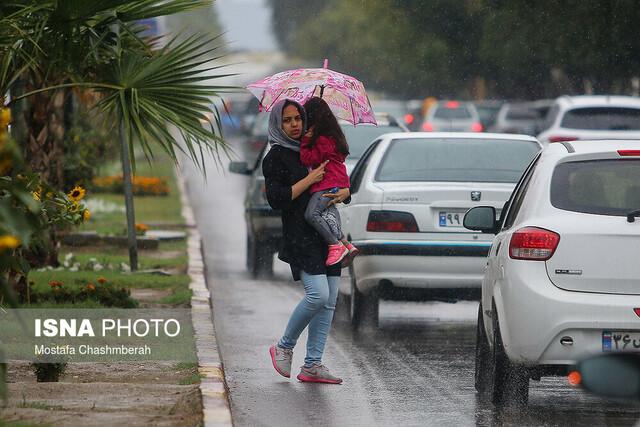 تداوم بارش باران در برخی نقاط کشور
