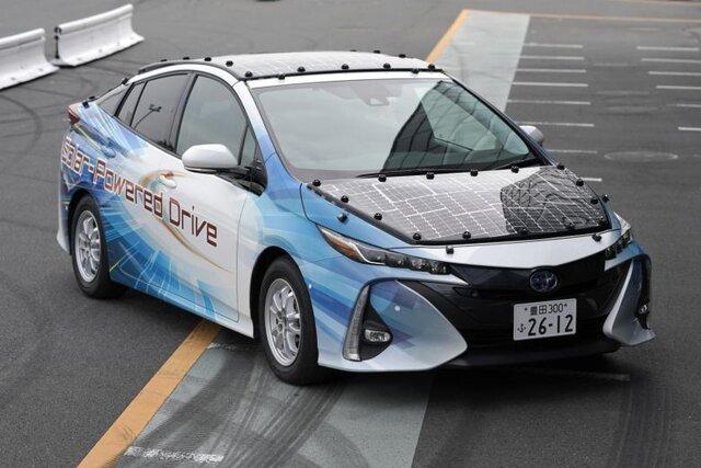 خودروی خورشیدی تویوتا حتی شبها خاموش نمیشود