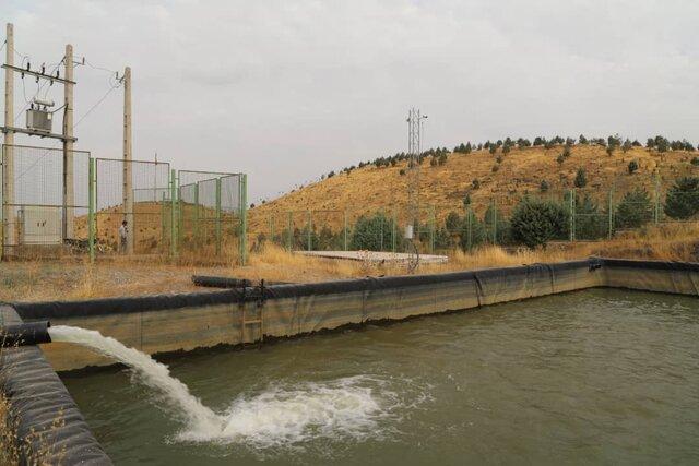 ۲۵ هزار متر لولهگذاری برای انتقال آب خام در پارک جنگلی سرخه حصار