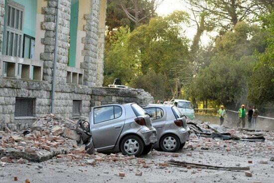 ۶۸ مصدوم در پی زلزله ۵.۶ ریشتری در آلبانی
