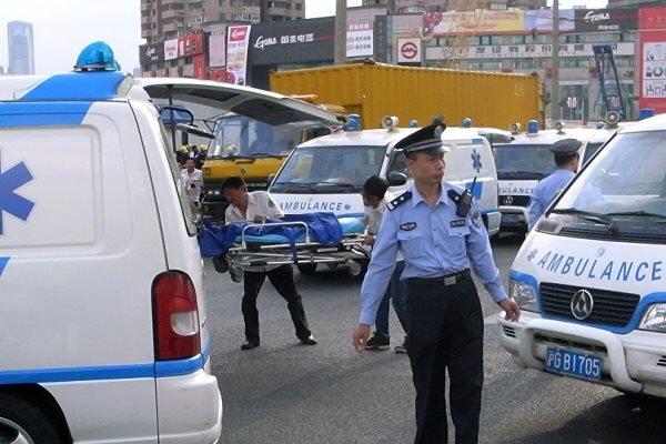 حمله با کامیون در چین ۱۰ کشته و ۱۶ زخمی بر جای گذاشت
