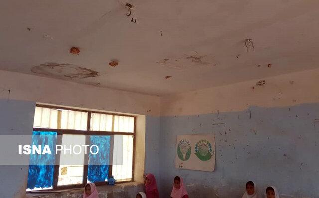 ریزش بخشهایی از سقف یک مدرسه در میناب/ مدارس تخریبی، زخمی کهنه بر پیکره هرمزگان