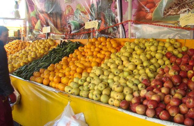 ذخیرهسازی 7000 تن پرتقال و سیب شب عید استان تهران