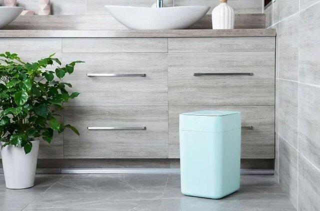 ابداع سطل زباله خودکار با قابلیت تعویض کیسه زباله+فیلم