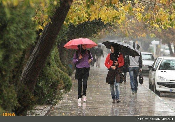 آغاز بارندگیها در کشور از فردا
