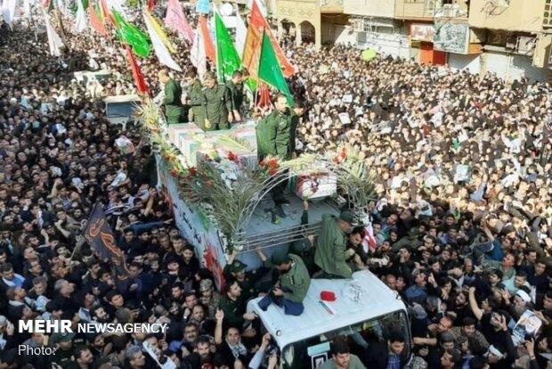 تمهیدات اورژانس در مراسم تشییع پیکر شهید سپهبد سلیمانی